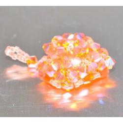Pendentif cristal Swarovski coeur sun ab2x