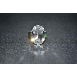 Bague sertie ovale en cristal de Swarovski crystal
