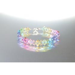"Bracelet cristal Swarovski ""été"" multicolor"