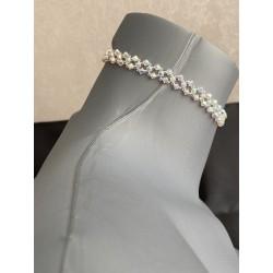 Swarovski, ras de cou cristal Swarovski, chic, bijou luxe, femme, mode, crystal ab2x